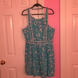 Lilly Pulitzer shift dress, size 14